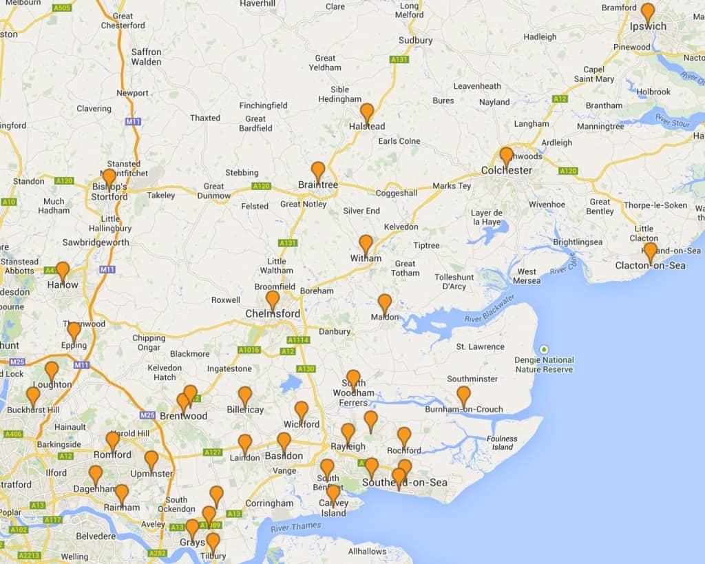 Locksmith Areas In Essex
